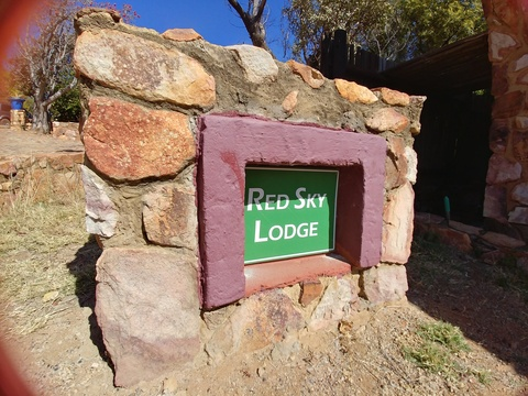 Sky Lodge, Hartbeespoort - Red Sky Lodge, suitable for up to 14 guests