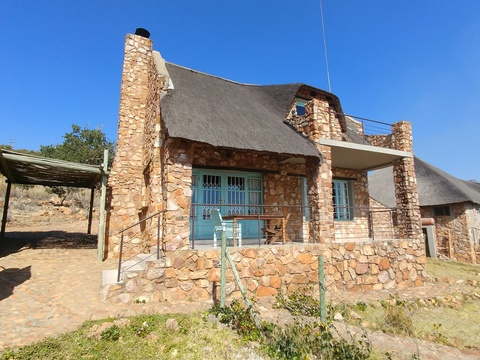 Sky Lodge, Hartbeespoort - Butterfly cottage from its private boma