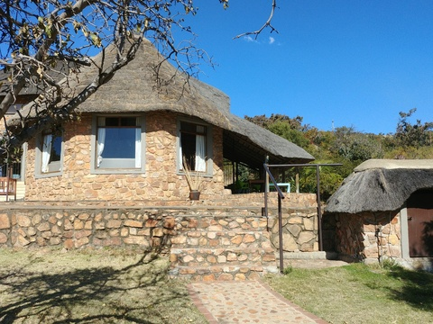 Stone Lodge - from private boma