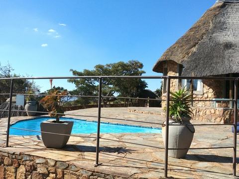 Stone Lodge at Sky Lodge, Hartbeespoort self catering