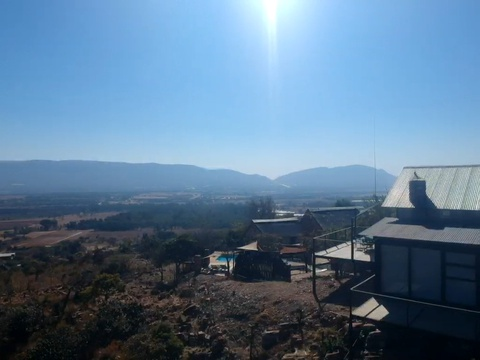 Sunset Lodge at Sky Lodge - Private lodge with the best views. Hartbeespoort self catering