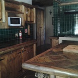 Self catering farmhouse kitchen with island