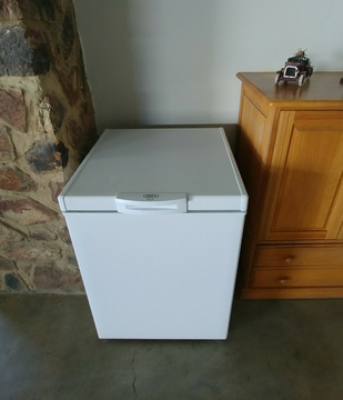 Sunset Lodge at Sky Lodge - Chest freezer to cater for larger groups