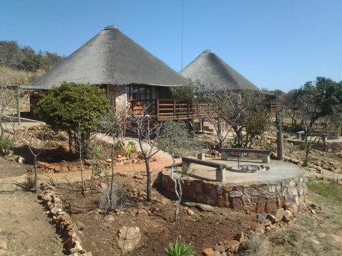 Stone Suites private braai boma